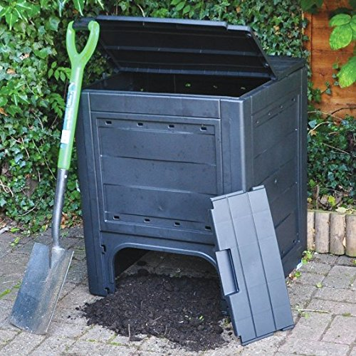 260L Compost Bin: Amazon.es: Jardín