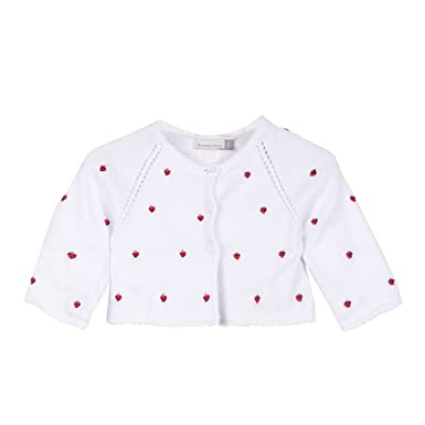d961c3daf07c Catimini Baby Girls  Cardi. Tri Flor Cardigan  Amazon.co.uk  Clothing