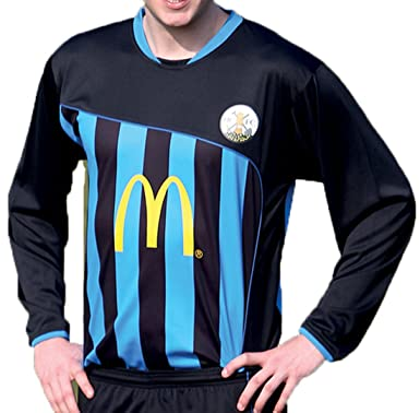 Amazon.com: Precision Valencia Shirt Junior Black/azure 30 ...