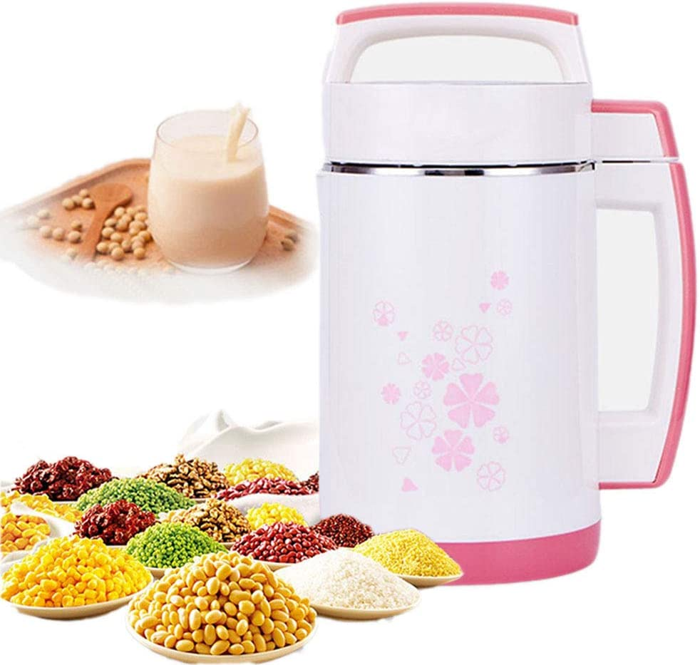 DAETNG Máquina de Leche de Soja Multifuncional de 2 litros, agitador de Pasta de arroz, exprimidor de Soja y calefacción automática Filtro de Acero Inoxidable, Panel de Control Inteligente, 800W: Amazon.es
