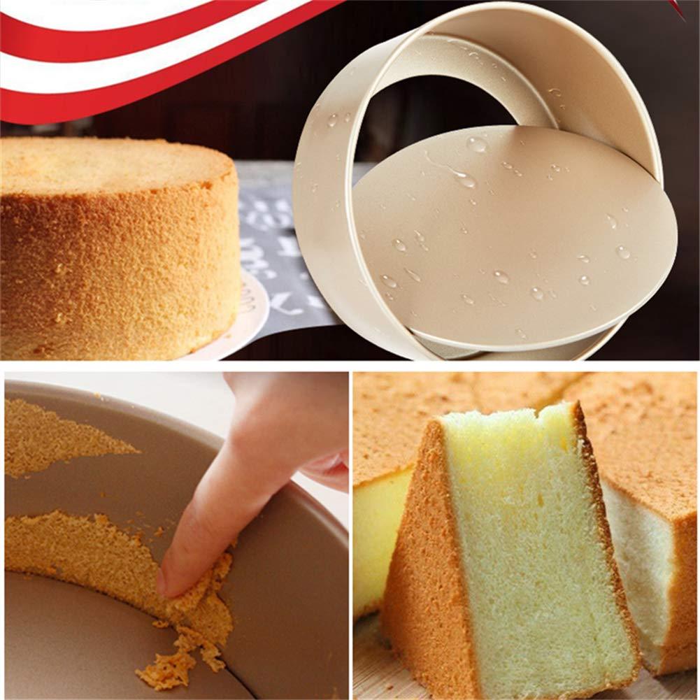 Amazon.com: Molde para tarta de queso de aluminio anodizado ...