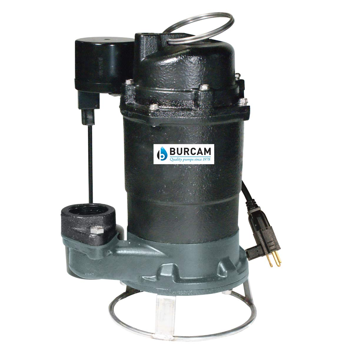 BURCAM 400700PZ 3/4HP Sewage Grinder Pump