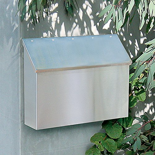 Salsbury Industries 4510  Standard Horizontal Style Mailbox, Stainless Steel by Salsbury Industries (Image #2)