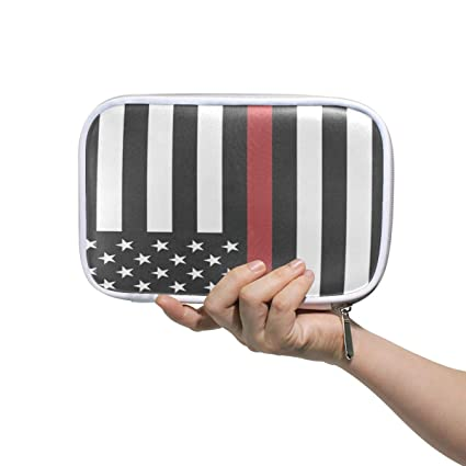 dd6d2ac241fb Amazon.com : America Firefighter Flag Thin Red Line Patriotic Large ...