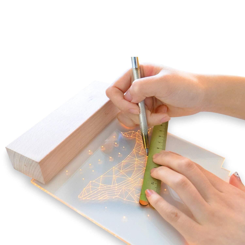 好みのイラストを専用のペンで描くだけ。特別な日に贈りたくなるLEDナイトライト