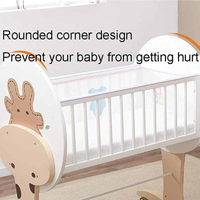 cama de cuna Cuna para bebés Cama ecológica de cuna Cama para empalmar (Color : A): Amazon.es: Bebé