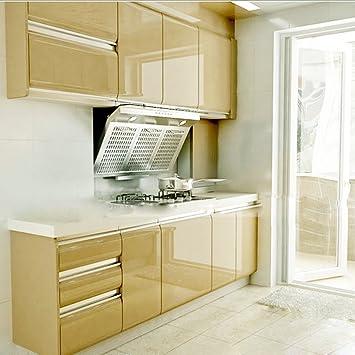 Amazon.de: KINLO Elegant Selbstklebend Möbelfolie PVC 0.61x5M Braun ...