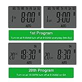 Outlet Timer, Digital Programmable