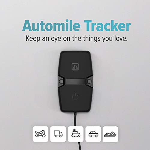 Automile GPS Tracker for Assets,Equipment Vehicles 12-Month Subscription Included