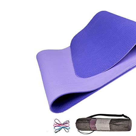 ZHAS Colchonetas de Yoga, Color de Doble Cara Alfombrilla ...