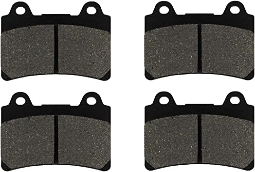 Rear Organic Brake Pads 1999-2003 Yamaha XV1600AT Road Star ur Front