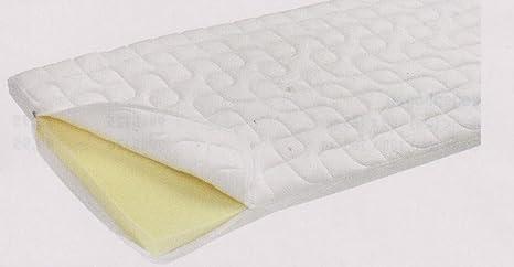 Caravana - cuna mercancías - lavable - fiesta - VISCO - elástico - colchón - 140 x 200 cm - altura 4 cm - Fabricado ...