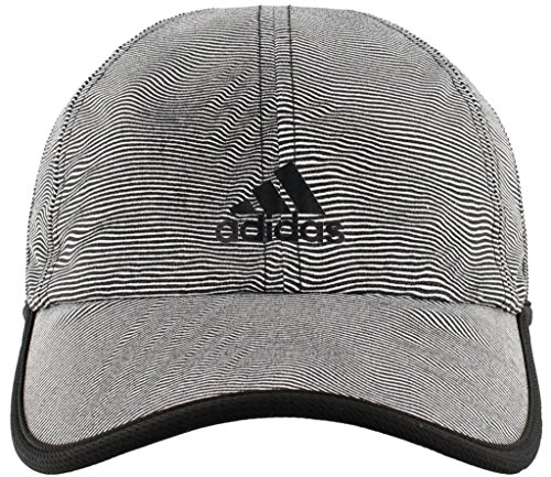 adidas Women's Superlite Pro Relaxed Performance Cap, Optic Stripe/Black, One - Adidas Pro Tennis