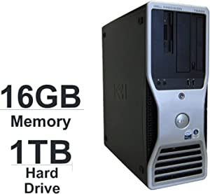 Dell Precision T5400 Workstation Tower ( Intel Xeon 2X Quad Core 2.0GHz processor, 16GB DDR2 RAM, WiFi, Dual Video Output, DVD-RW, Microsoft Windows 7 Professional 64-Bit)