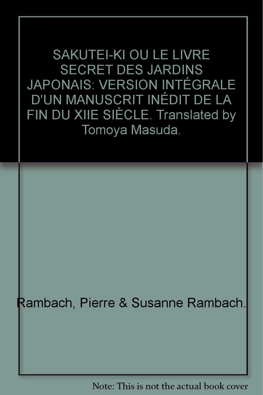 Le Livre Secret Des Jardins Japonais Pierre And Susanne