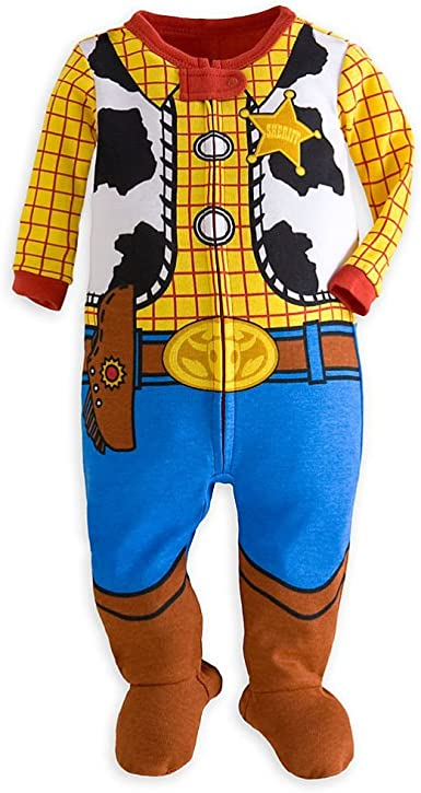 Tienda de Disney Toy Story Woody disfraz LITTLE BOY pijama ...