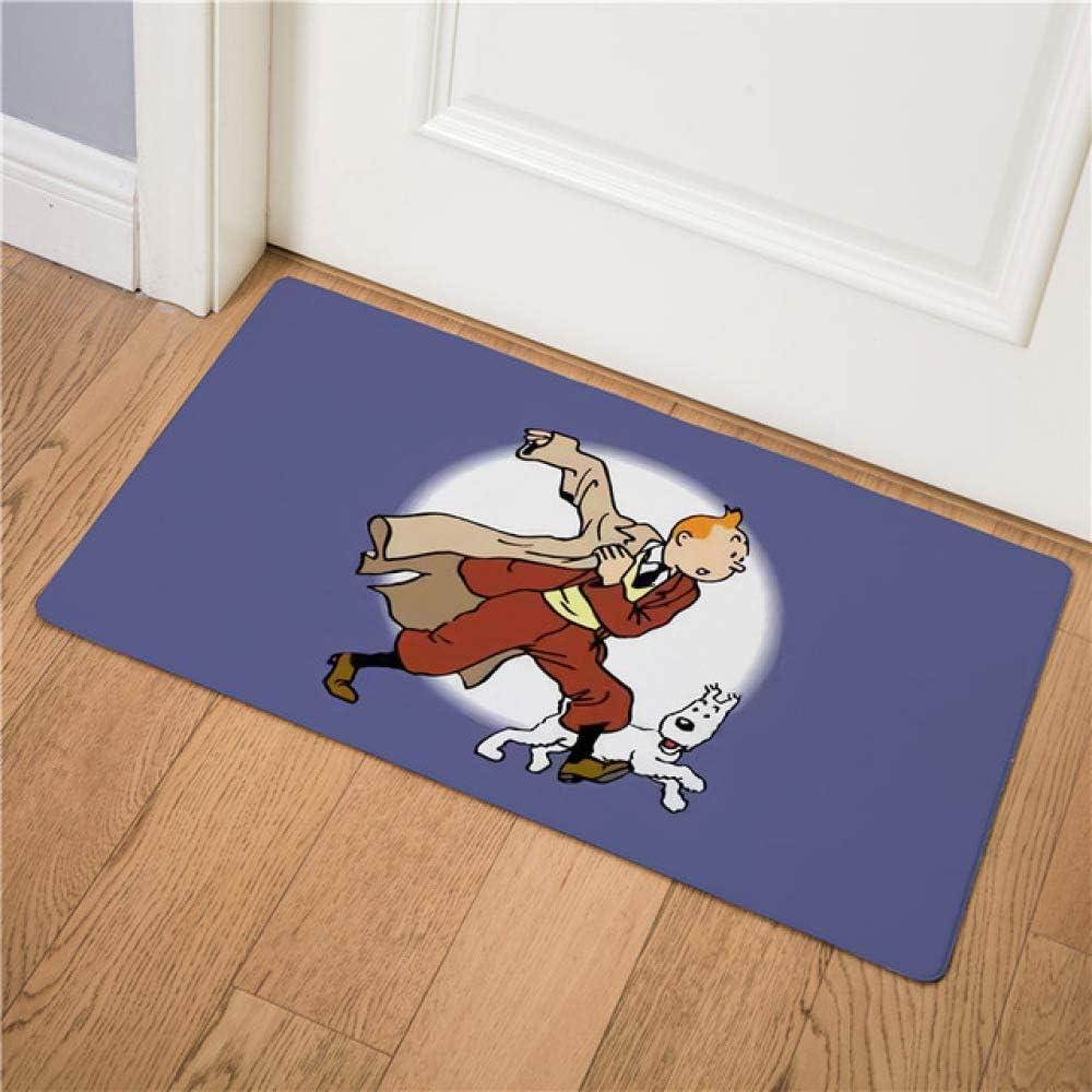 Cartoon Tim und Struppi Abenteuer Auto Pferd Nostalgic Home Fußmatte Korridor