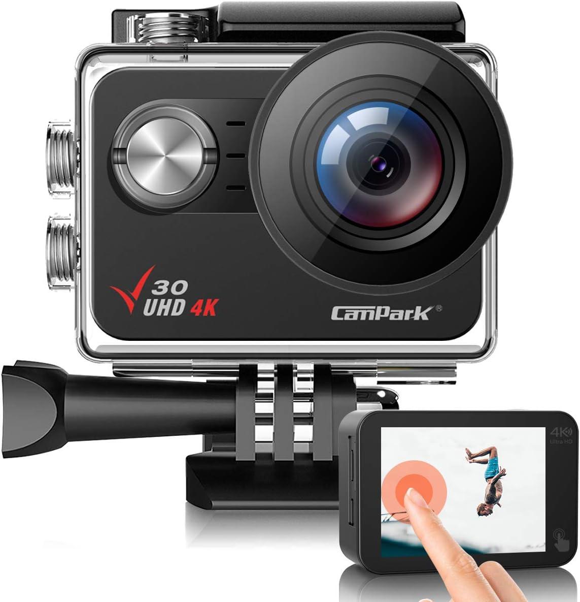Campark V30 ネイティブ 4K アクションカメラ