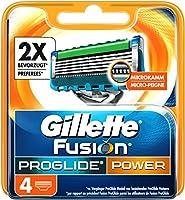 Gillette Fusion ProGlide Power Rasierklingen, 4 Stück
