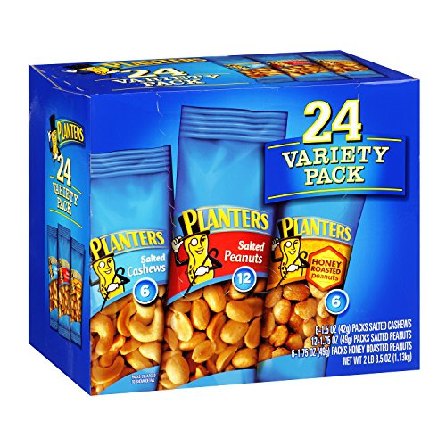 Planters Nut Variety Box (24 count)