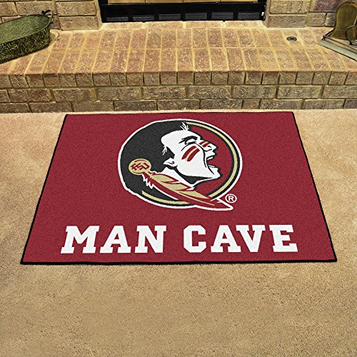 Florida State Tufted Rug (NCAA Florida State University Team Logo Man Cave All-Star Mat - 33.75