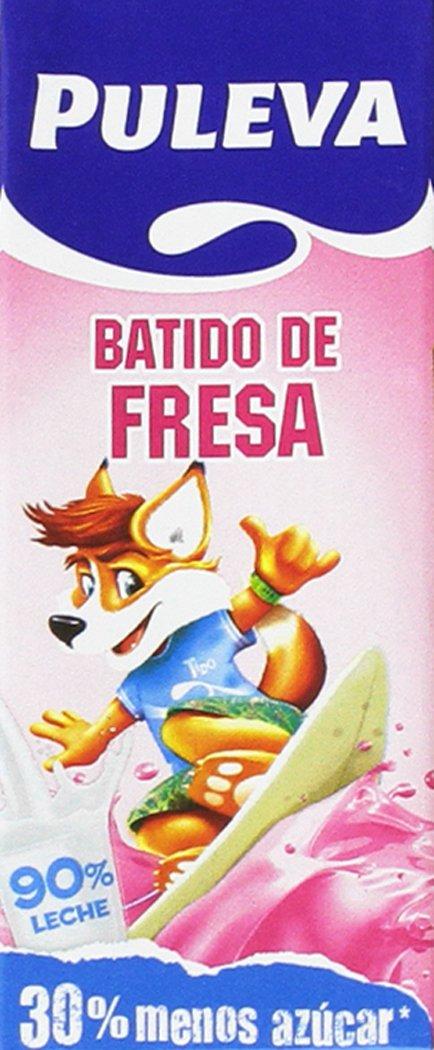 Puleva Batido Fresa - 5 Packs de 6 und: Amazon.es: Alimentación y bebidas