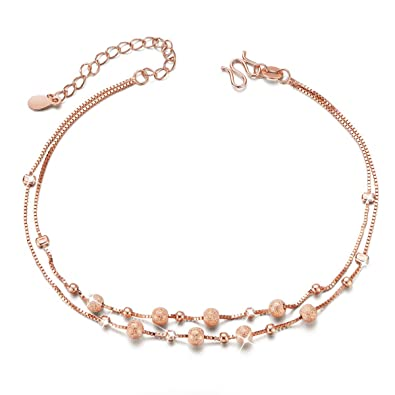 plated anklet color bracelet jewelry anklets women leg for bridal foot chain fashion gold item