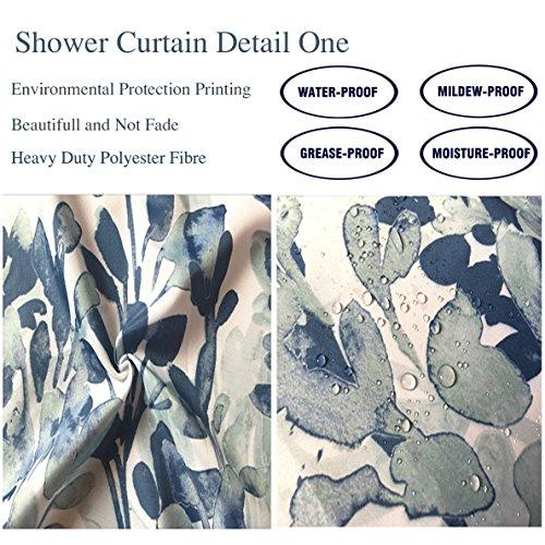 Review Nalahome Bath Suit: Showercurtain
