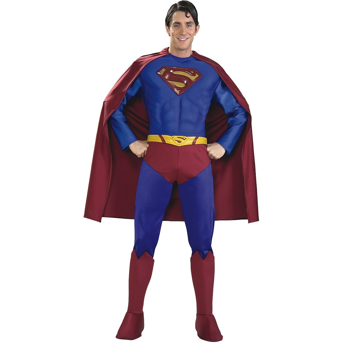 Rubie's Supreme Edition Muscle Chest Superman, Blue/Red, X-Large Costume by Rubie's