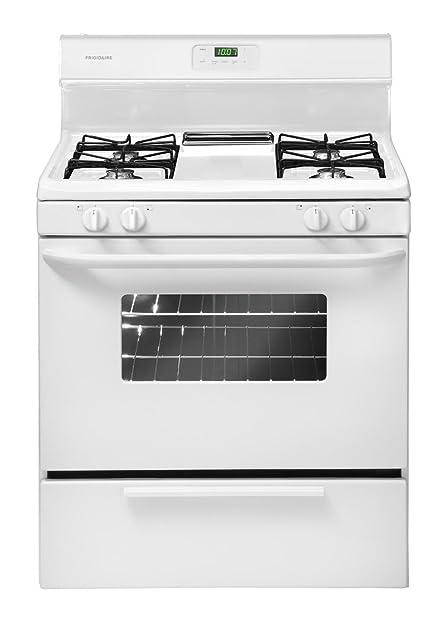 amazon com frigidaire ffgf3011lw 30 inch gas range white appliances rh amazon com Frigidaire Electric Range Manual Frigidaire Oven Control Board