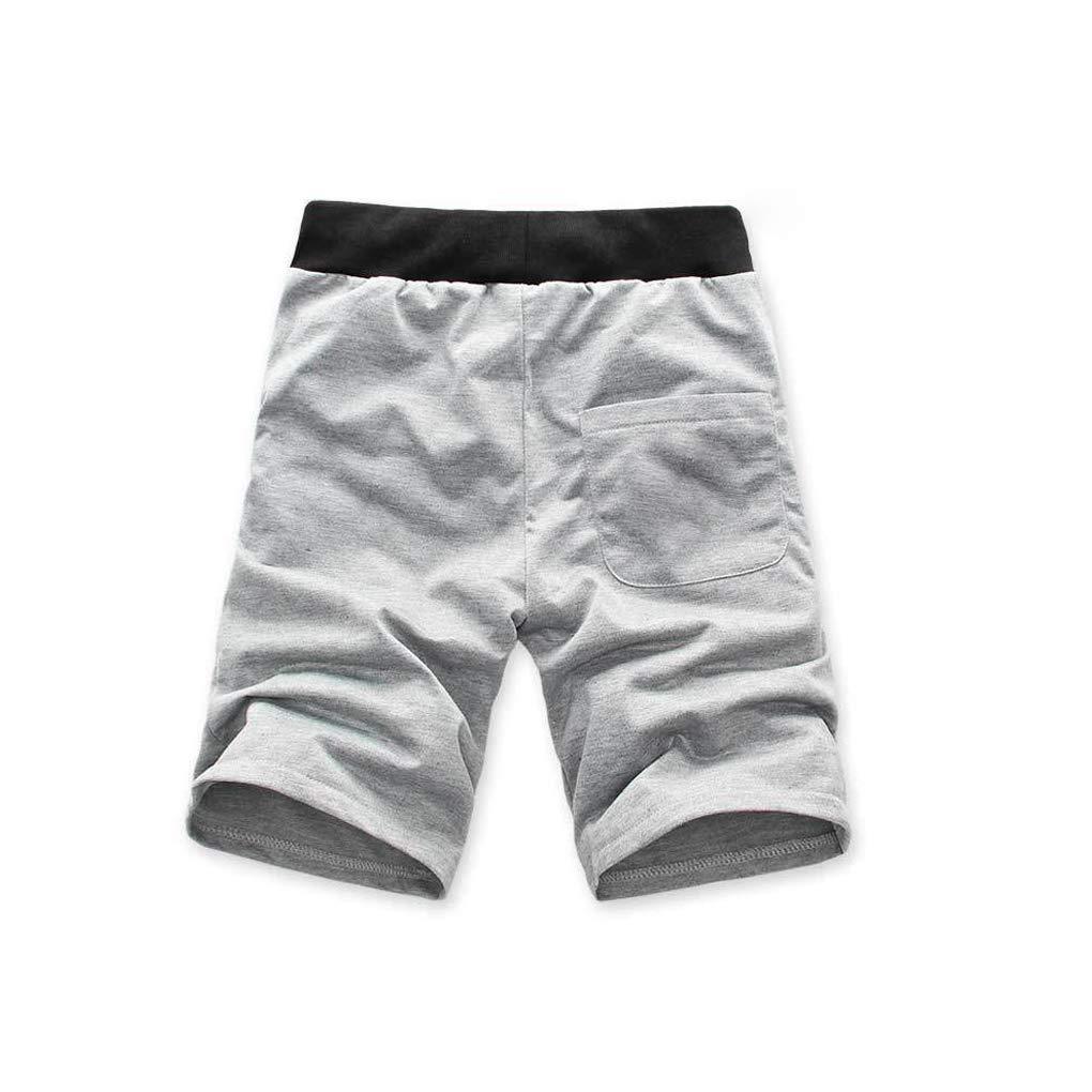 Zerama Hommes Shorts String Plage Corde Respirant Cinq Pantalons Courts de Refroidissement Pantalons