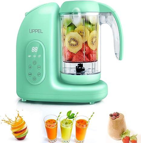 UPPEL - Robot de cocina 5 en 1 para bebés, cocina al vapor y ...
