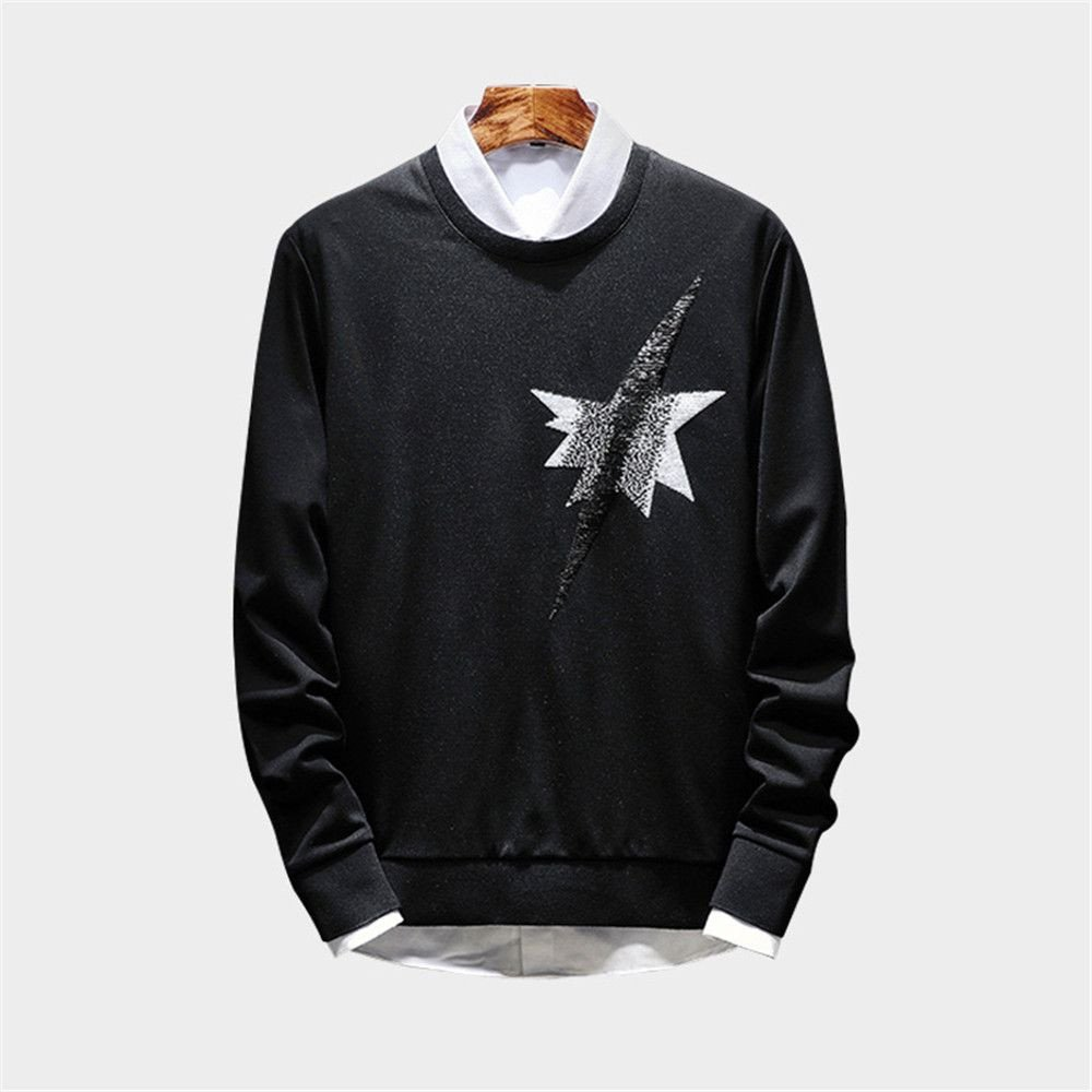 Lisux männer - Mode - Freizeit - männer - Pullover, t - Shirt, Pulli Pullover Farbe männer,schwarz,XXXL