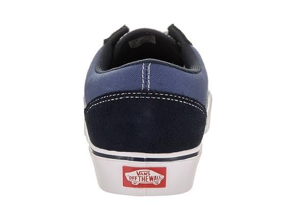 56b18328739f71 Vans Unisex Old Skool Lite (Suede Canvas) Navy White Skate Shoe 6 Men US    7.5 Women US  Amazon.co.uk  Shoes   Bags