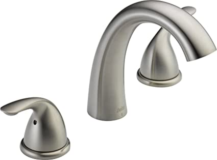 Delta T5722 SS Classic Roman Tub Trim, Stainless (Valve Not Included)