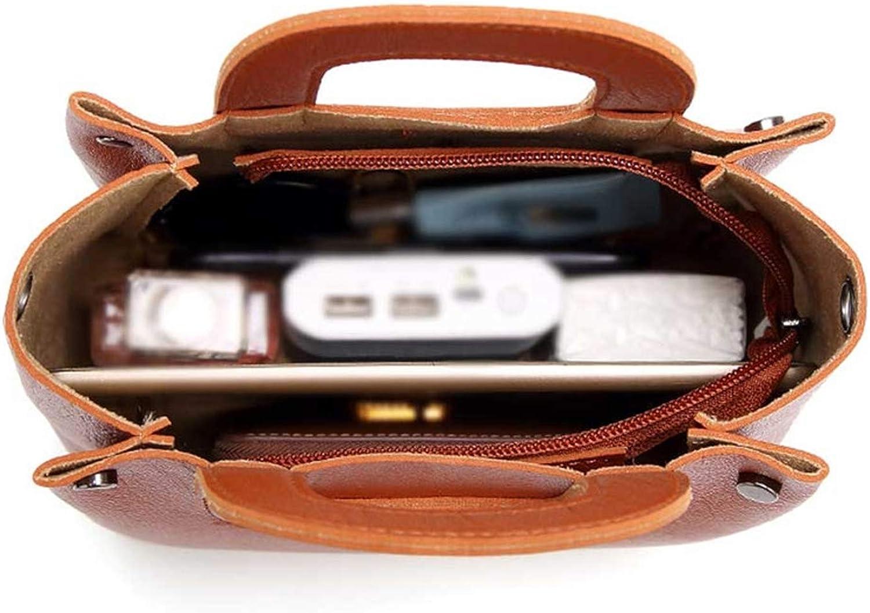 Ladies Handbags And Evening Bags Brown Clutch Wallet Women Leather Handbags Vintage Shoulder Bags Women Chain,Brown
