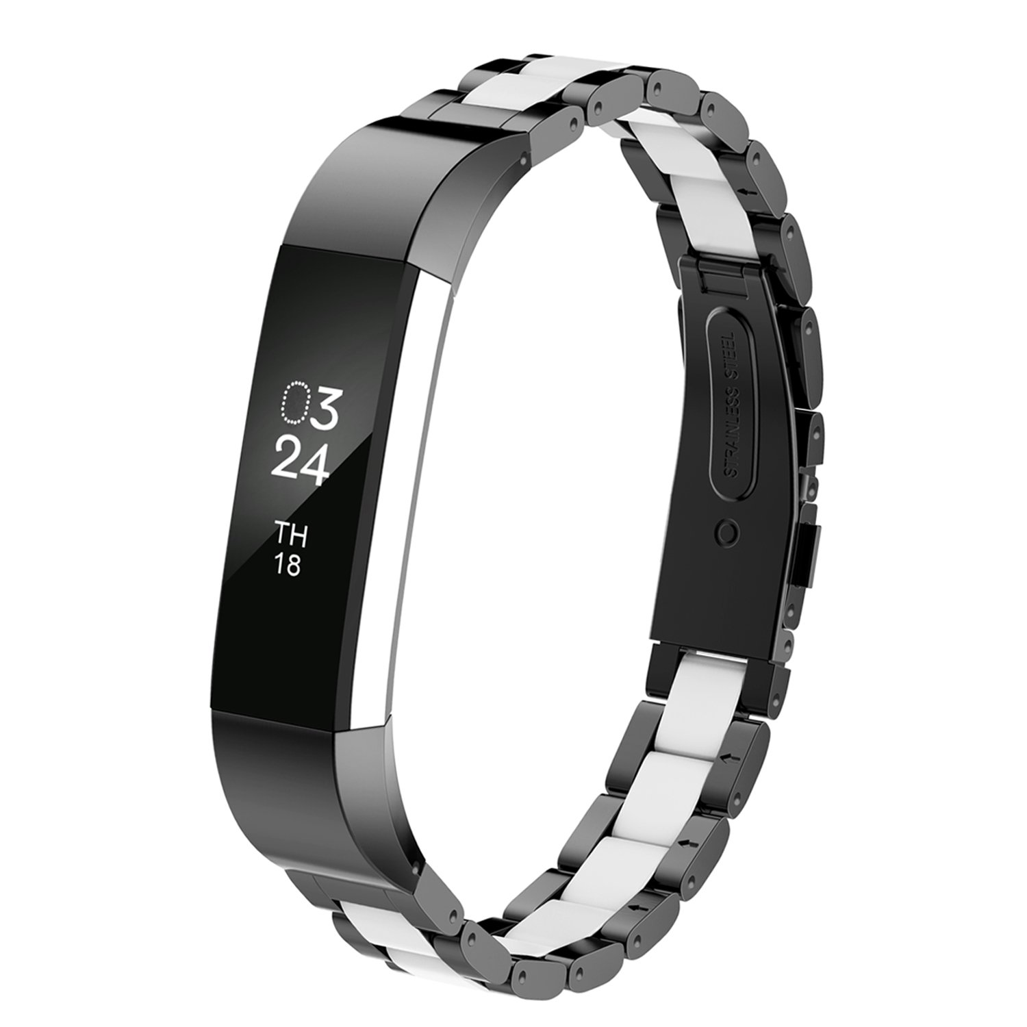 Details about Fitbit Alta HR and Alta Bands Metal, Greeninsync Fitbit Alta  Stainless Steel