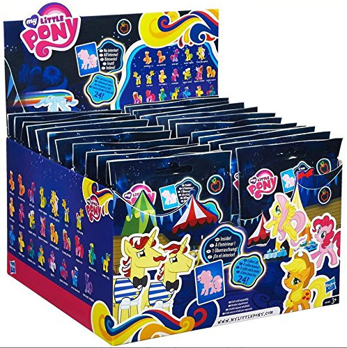 My Little Pony Neon Bright Surprise Blind Bag Mini Figure Wave 8 - Box of 24
