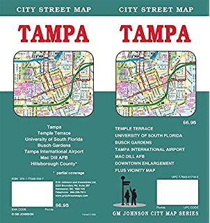 Map Of South Florida.Folded Map Tampa And St Petersburg Regional Map Rand Mcnally