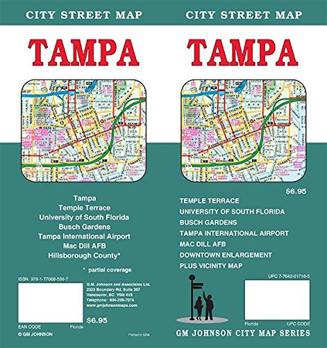 Tampa, Florida Street Map