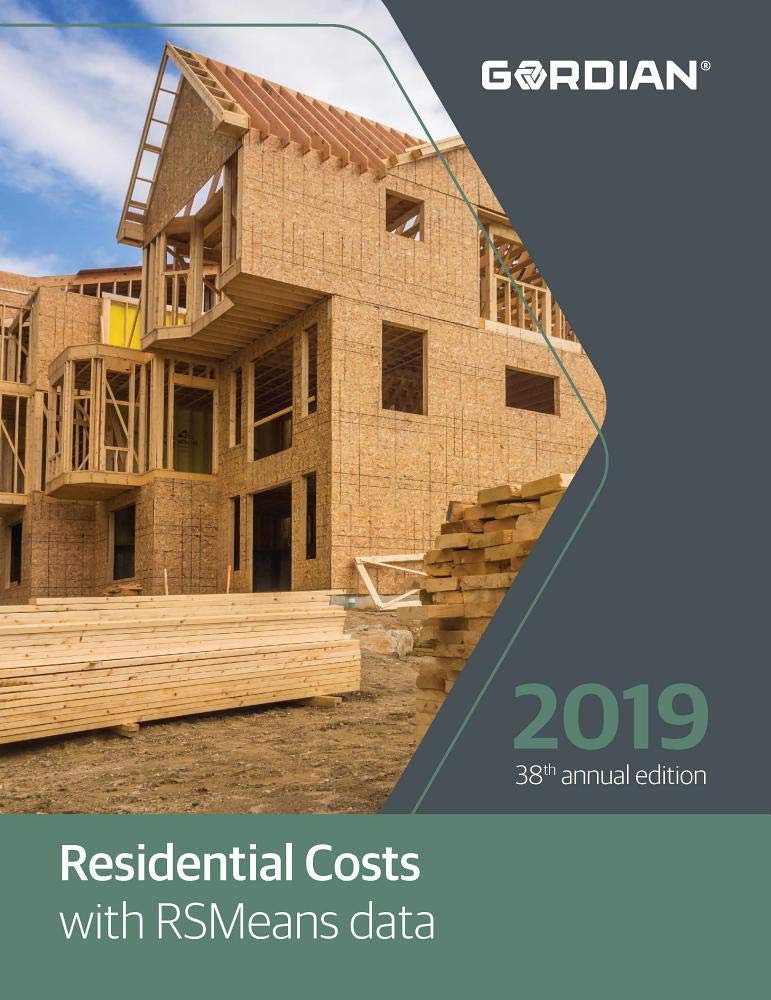 Residential Costs With RSMeans Data 2019