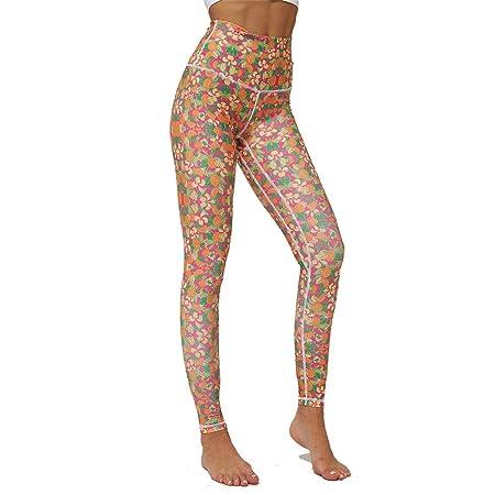 Mujer Mallas Pantalones Deportivos Leggings, Mujeres Orange ...