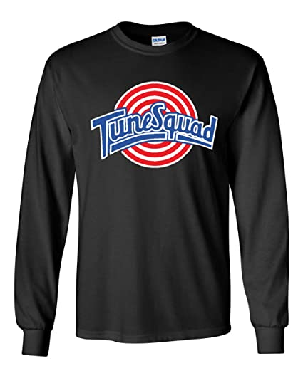 "280a79a2763 The Silo LONG SLEEVE BLACK Space Jam ""Tunesquad"" Lola Bunny Front  & Back"