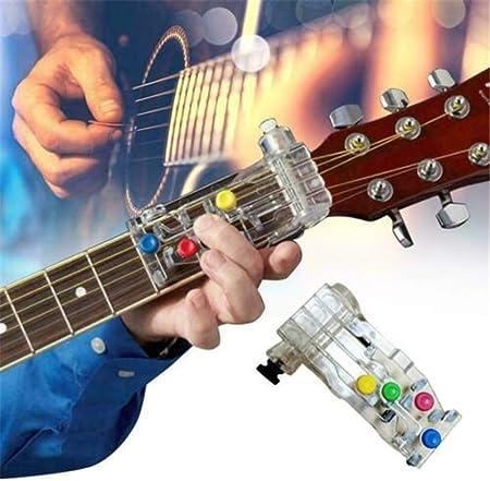 FANPING Ayuda Enseñanza CLÁSICA ACORDE Buddy Sistema de Aprendizaje Guitarra CHORDBUDDY Unidad sólo (Color : Style 6): Amazon.es: Hogar