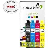 Colour Direct -1 Conjunto Compatible cartuchos de tinta - 29XL Reemplazo para Epson Expression Home XP-235 XP-245 XP-247 XP-255 XP-257 XP-332 XP-335 XP-342 XP-345 XP-352 XP-355 XP-432 XP-435 XP-442 XP-445 XP-452 XP-455 impresoras. 1 X 2991 1 X2992 1 X 2993 1 X 2994