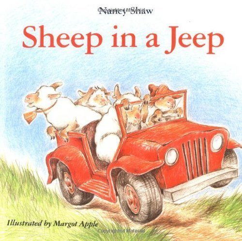 SHEEP IN A JEEP by Nancy E. Shaw (1988-10-24)