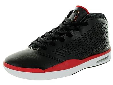 3af2089711e Jordan Nike Men s Flight 2015 Black White Gym Red Basketball Shoe 13 Men US