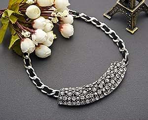 VUMIND collares LimitedTrendyChokers s Resin Rope Chain Zinc Plant Collar BraidedShape