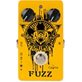 Caline Fuzzy Bear Guitar Fuzz Pedal Vintage Effects Pedals Aluminum Alloy Shell with True Bypass Orange CP-46 Black Friday