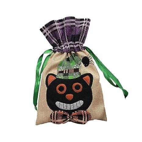 Storagc Halloween - Bolsas de dulces con cordón para niños o ...